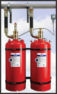FM-200 Fire Extinguishing System