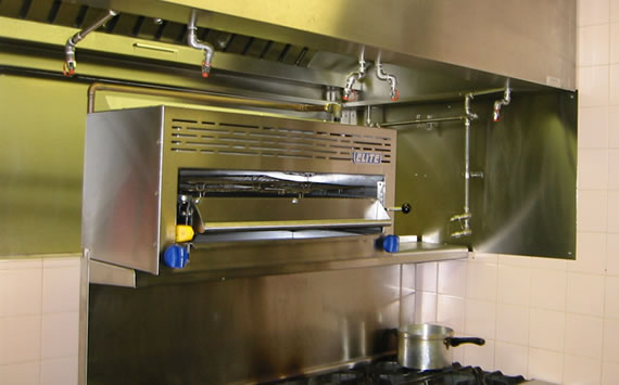 Ansul R102 Fire Suppression System For Kitchens